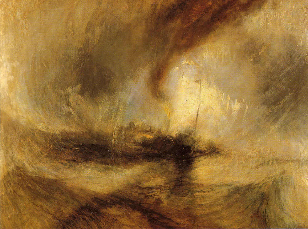 William Turner - La tempesta di neve (Snow Storm)